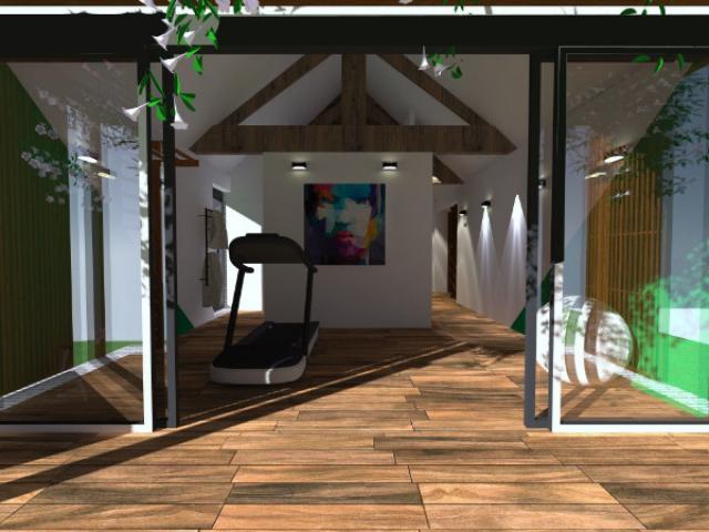 Réaménagement complet d'un RDC et création de 2 extensions Maison sur Marcq-en-B.